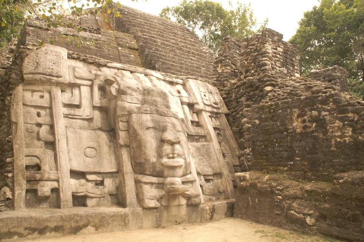 Take a day trip to visit Maya ruins, such as Lamani