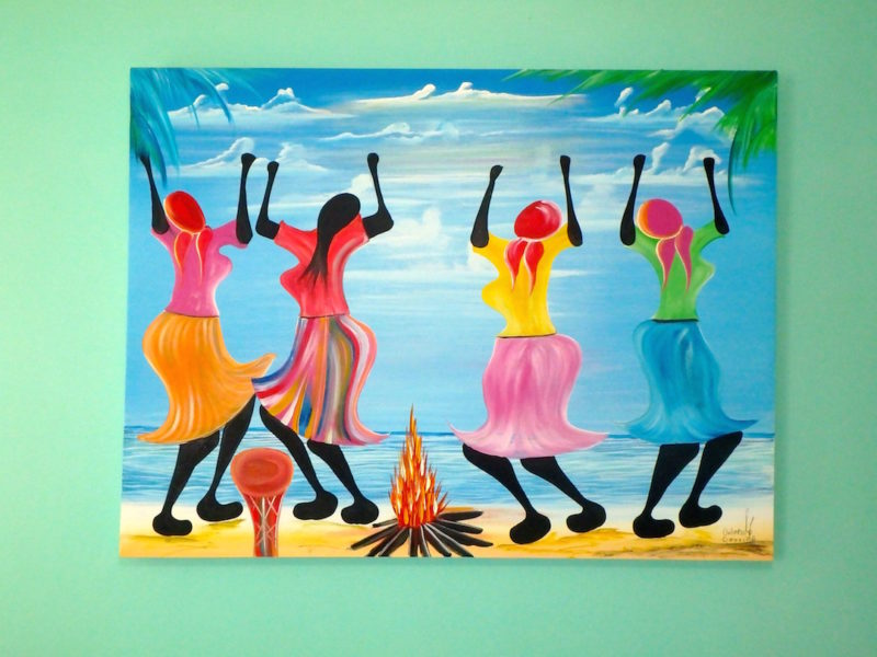 Great, colorful, Belizean art!