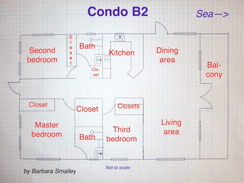 Condo B2 floor plan