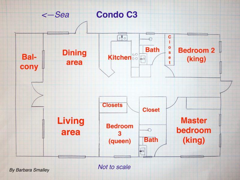 Condo C3, Sunset Beach Resort, Ambergris Caye