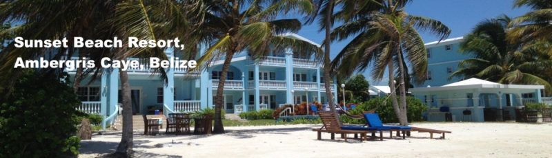 Sunset Beach Resort, San Pedro, Belize