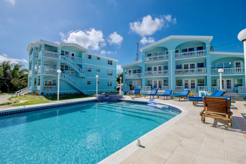 Pool Buildings B A Vacation Rentals Ambergris Caye